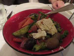 Very authentic yummy Greek Salad
